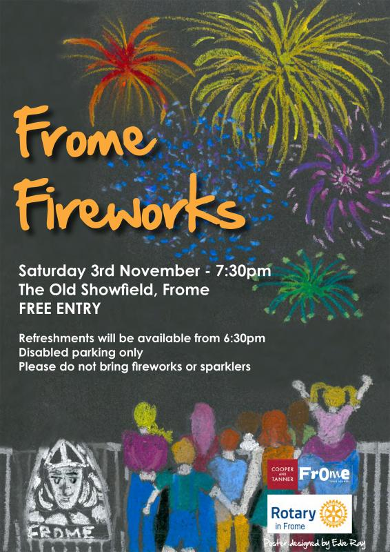 Frome Fireworks tonight